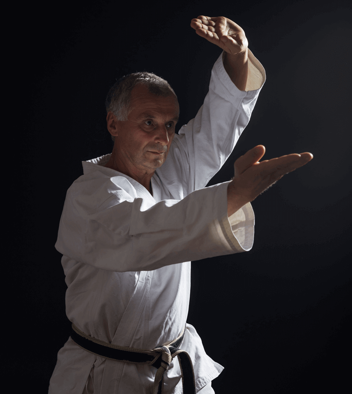 Martial Arts Lessons for Adults in Maplewood NJ - Older Man