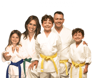 Martial Arts Lessons for Families in Maplewood NJ - Group Family for Martial Arts Footer Banner