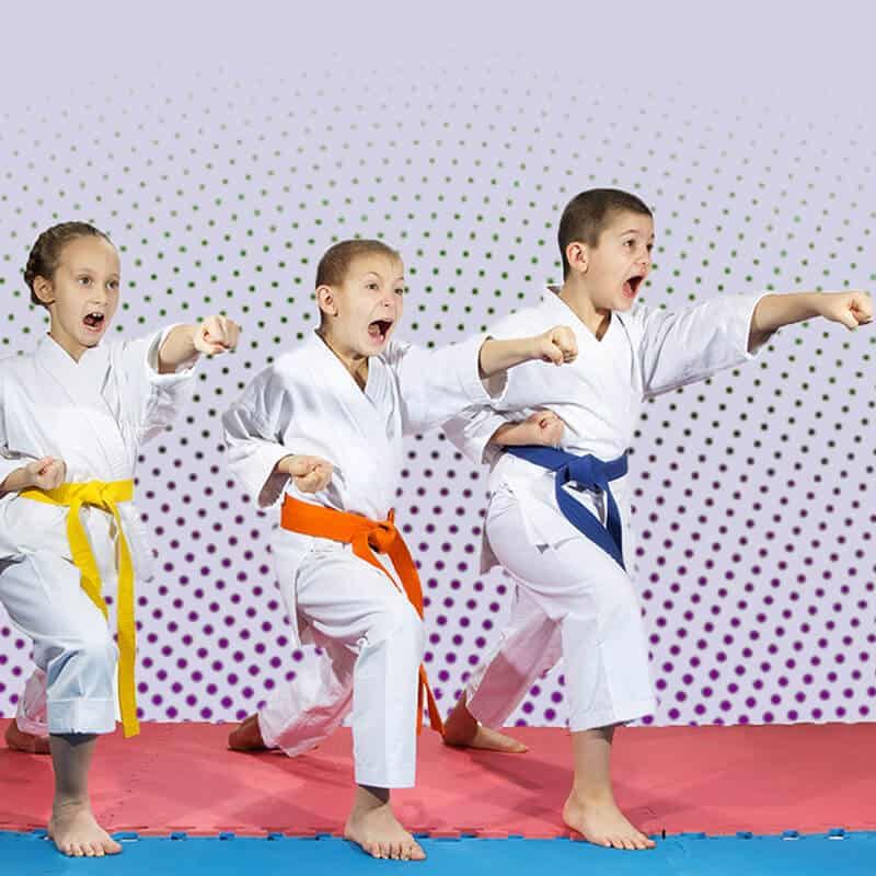 Martial Arts Lessons for Kids in Maplewood NJ - Punching Focus Kids Sync