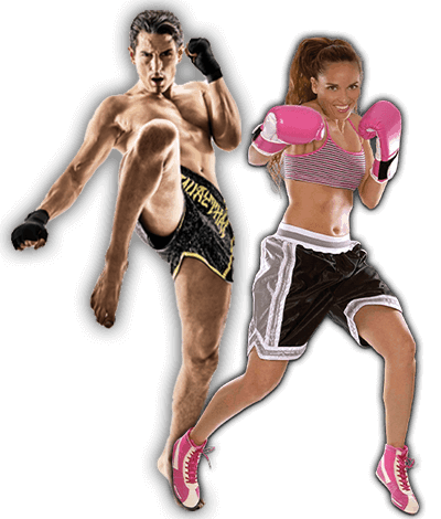 Fitness Kickboxing Lessons for Adults in Maplewood NJ - Kickboxing Men and Women Banner Page