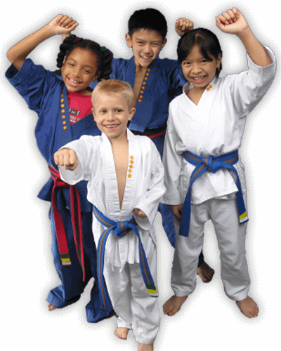 Martial Arts Summer Camp for Kids in Maplewood NJ - Happy Group of Kids Banner Summer Camp Page